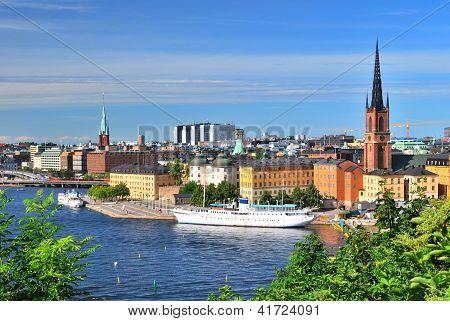 Stockholm, Island Riddarholmen