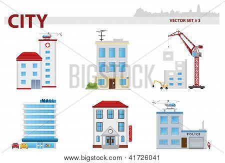 Public Building. Set 3