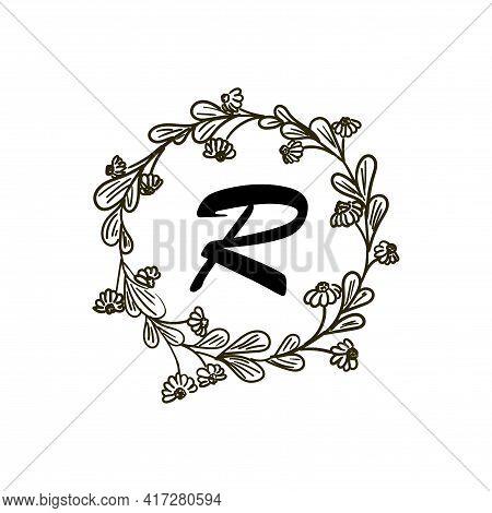 R Letter Design Logo Vector. R Logo Business
