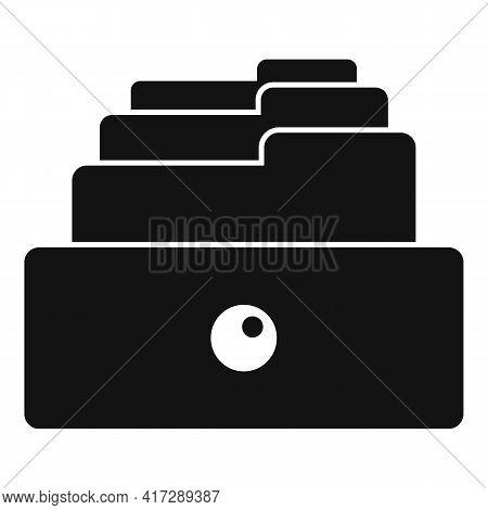Copy Storage Documents Icon. Simple Illustration Of Copy Storage Documents Vector Icon For Web Desig