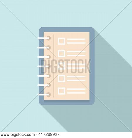 To-do List Sheet Icon. Flat Illustration Of To-do List Sheet Vector Icon For Web Design