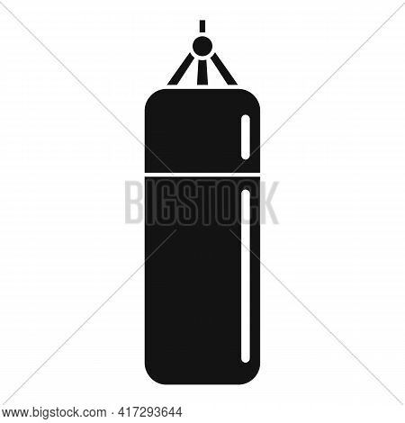 Punch Bag Icon. Simple Illustration Of Punch Bag Vector Icon For Web Design Isolated On White Backgr