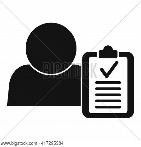 Personal Traits Icon. Simple Illustration Of Personal Traits Vector Icon For Web Design Isolated On