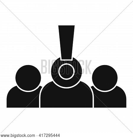 Group Personal Traits Icon. Simple Illustration Of Group Personal Traits Vector Icon For Web Design