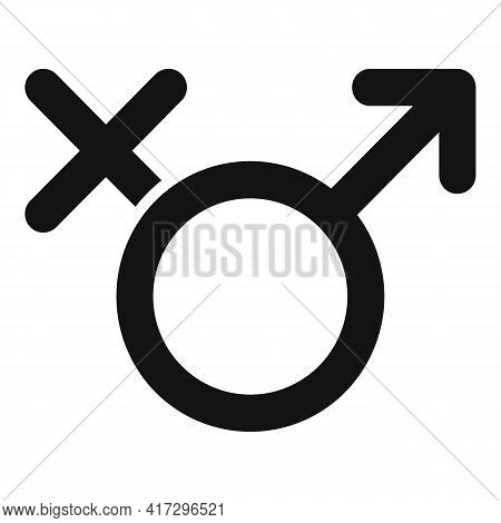 Gender Empowerment Icon. Simple Illustration Of Gender Empowerment Vector Icon For Web Design Isolat