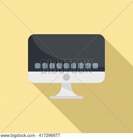 Pc Operating System Icon. Flat Illustration Of Pc Operating System Vector Icon For Web Design