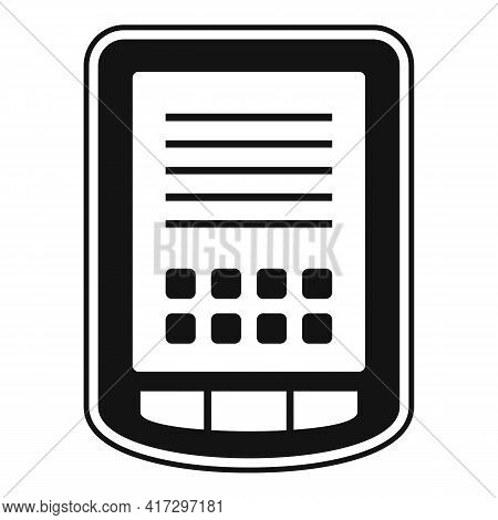 Tablet Operating System Icon. Simple Illustration Of Tablet Operating System Vector Icon For Web Des
