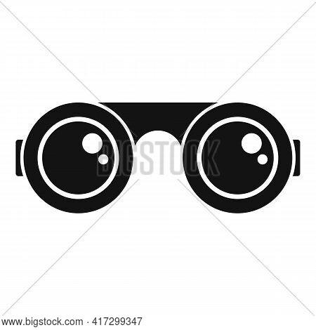 Blacksmith Glasses Icon. Simple Illustration Of Blacksmith Glasses Vector Icon For Web Design Isolat