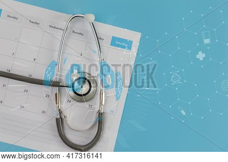 Clinic Research Medical Record Healthcare And Network Connection Interface Medical Technology Clinic