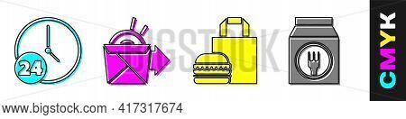 Set Clock 24 Hours, Online Ordering Noodles Delivery, Online Ordering Burger Delivery And Online Ord