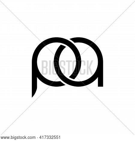 Illustration Vector Design Graphic Of Logo Letter Pa