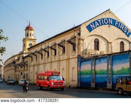 Bombay Dockyard Also Known As Naval Dockyard Is An Indian Shipbuilding Yard In Mumbai
