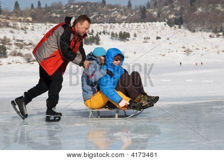 Crazy Ice Skating