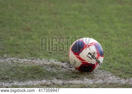 Rio, Brazil - April 17, 2021: The Ball In Match Between Fluminense V Botafogo By Carioca Championshi