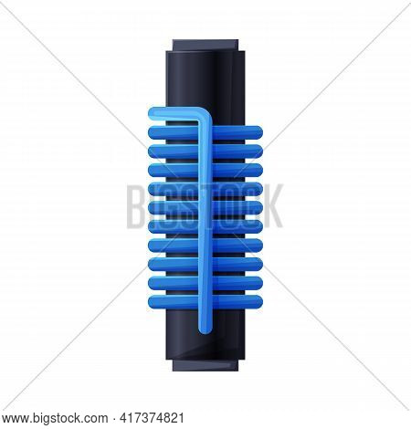 Vector Design Of Coil And Metal Logo. Graphic Of Coil And Spiral Stock Vector Illustration.