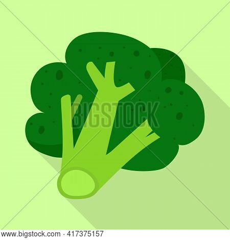 Vector Illustration Of Broccoli And Product Symbol. Collection Of Broccoli And Crop Stock Symbol For