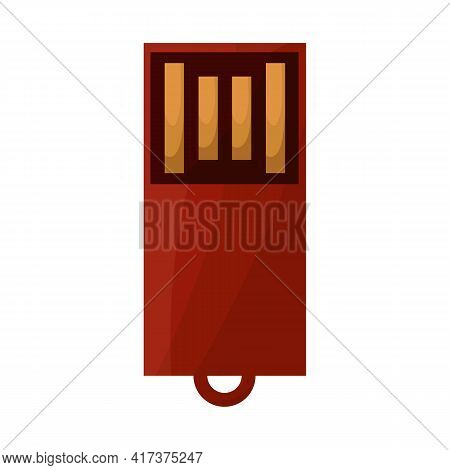 Vector Illustration Of Usb And Memory Symbol. Web Element Of Usb And Device Stock Symbol For Web.