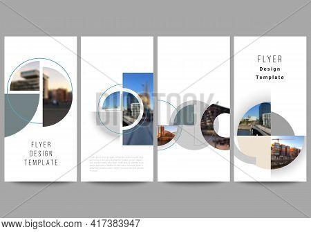 Vector Layout Of Flyer, Banner Design Templates For Website Advertising Design, Vertical Flyer, Webs