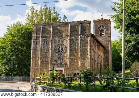 Sanctuary Of Saint Maria Apparente Of Campotosto, Santuario Di Santa Maria Apparente Di Campotosto I