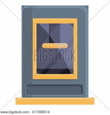 Product Press Form Machine Icon. Cartoon Of Product Press Form Machine Vector Icon For Web Design Is