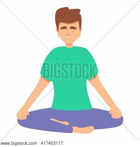 Spiritual Practice Icon. Cartoon Of Spiritual Practice Vector Icon For Web Design Isolated On White