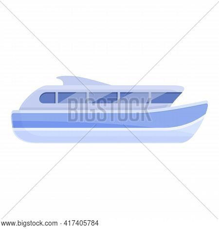 Speed Cruise Icon. Cartoon Of Speed Cruise Vector Icon For Web Design Isolated On White Background