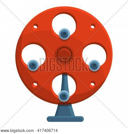 Perpetual Motion Action Icon. Cartoon Of Perpetual Motion Action Vector Icon For Web Design Isolated