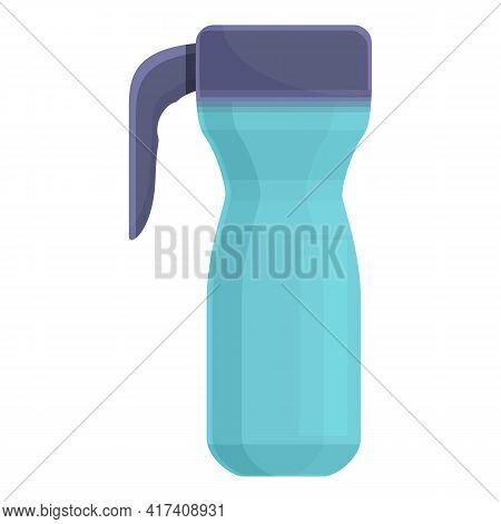 Coffee Thermo Mug Icon. Cartoon Of Coffee Thermo Mug Vector Icon For Web Design Isolated On White Ba