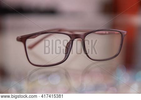 A New Eyewear Model In Optical Store