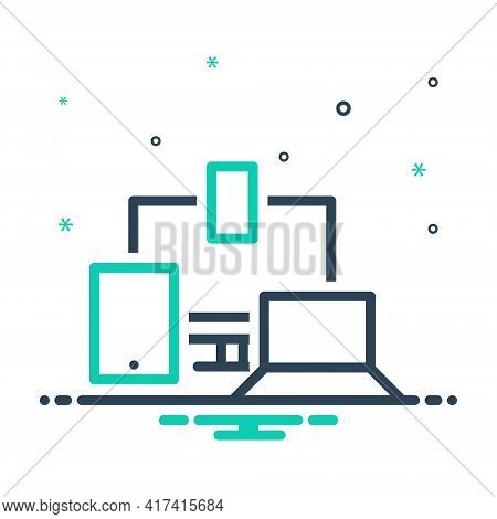 Mix Icon For Responsive-design Responsive Design Technology Monitor Realistic