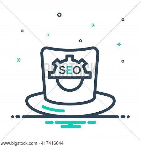 Mix Icon For Seo-whitehat Seo Whitehat Cap Headgear Trilby