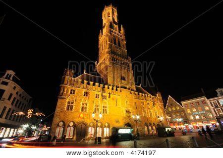 Belfry Tower, Markt Square, Bruges