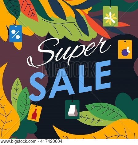 Super Sale, Discounts In Shop Or Store, Clearance
