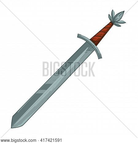 Sword Of Ancient Times And Epoch, Antique Exponent