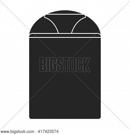 Trap For Insect Vector Black Icon. Vector Illustration Trap For Bag On White Background. Isolated Bl