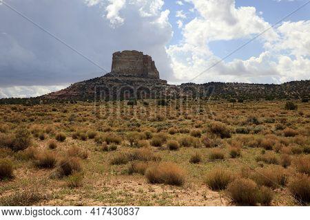 Page, Arizona / Usa - August 05, 2015: Arizona Landscape, Page, Arizona, Usa