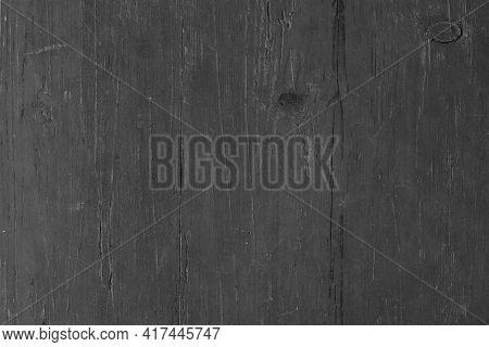 Wood Texture. Black Wood Background, Dark Wood Table Or Wall