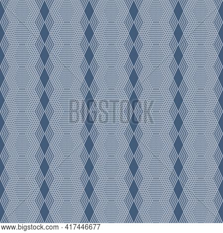 Decorative Seamless Pattern. Repeating Background. Vector Graphic.