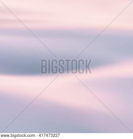Foggy Clouds. Pastel Fog Waves. Morning Mist. Natural Background