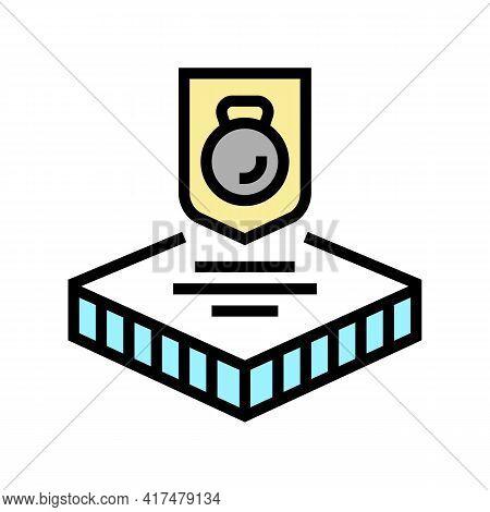 Durable Fabrics Properties Color Icon Vector. Durable Fabrics Properties Sign. Isolated Symbol Illus
