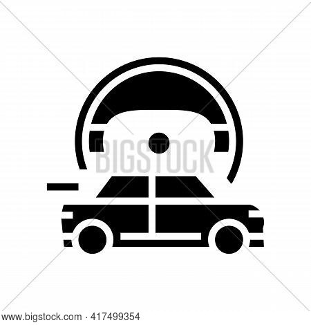Fast Driving Mens Leisure Glyph Icon Vector. Fast Driving Mens Leisure Sign. Isolated Contour Symbol