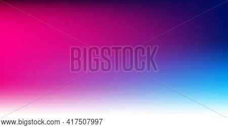 Blurred Large Panoramic Summer Background Multicolored Gradient - Illustration