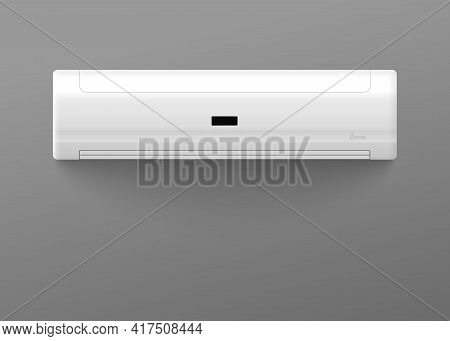Air Conditioner For Climate Control Indoors A Vector Realistic 3d Illustration