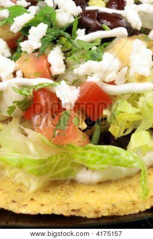 Mexican Tostadas  Tacos