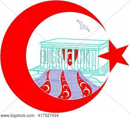 Icon Remembrance Of Ataturk Turkey