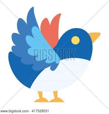 Isolated Bird Icon. Pigeon Icon - Vector Illustration