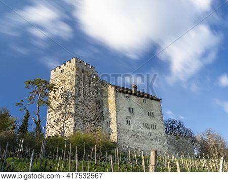 Habsburg Castle In Canton Aargau, Switzeland, Is The Original Seat Of The House Of Habsburg, Which B