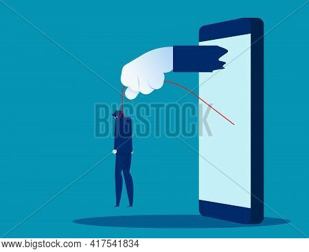 The Business Killed By Big Hand In Smartphone