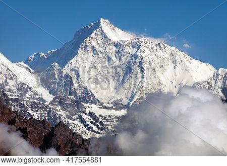 Mount Makalu, Nepal Himalayas, Makalu Barun National Park, Nepal Himalaya Mountains