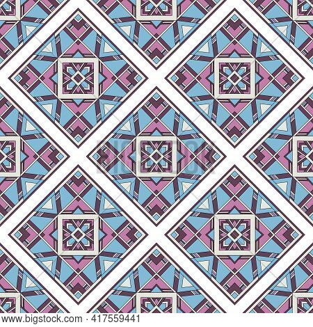Culture Pattern. Outline Hand Drawn Illustration Of Culture Vector Pattern For Web Design